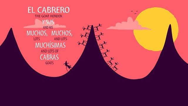 Nos ha encantado esta animación titulada EL CABRERO Y SUS MUCHAS, MUCHAS, MUCHÍSIMAS CABRAS.  Ganador 2012 del premio de animación independiente en el Blue Plum Animation festival Tennessee