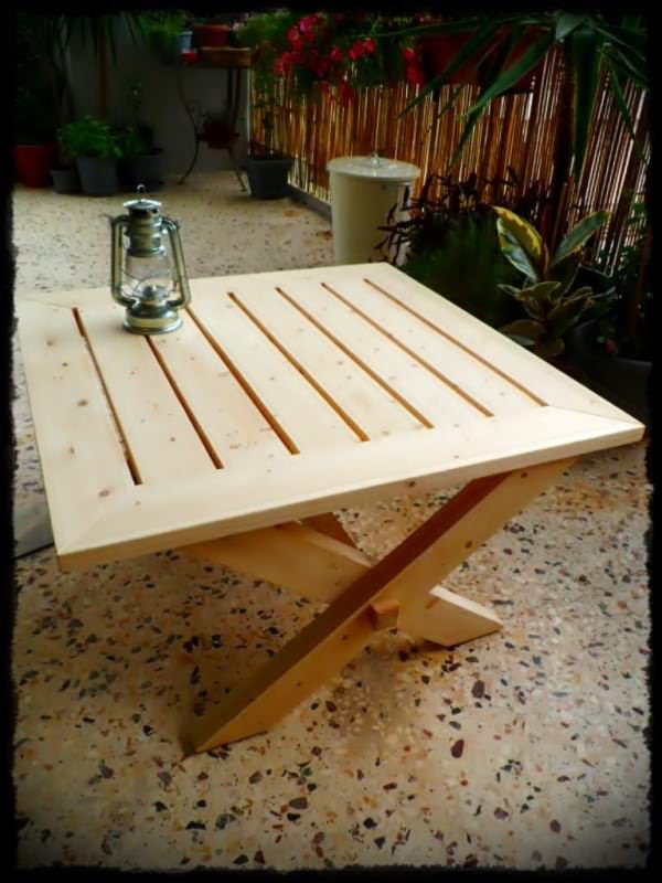 Outdoor Pallet Coffee Table Coffee Tables