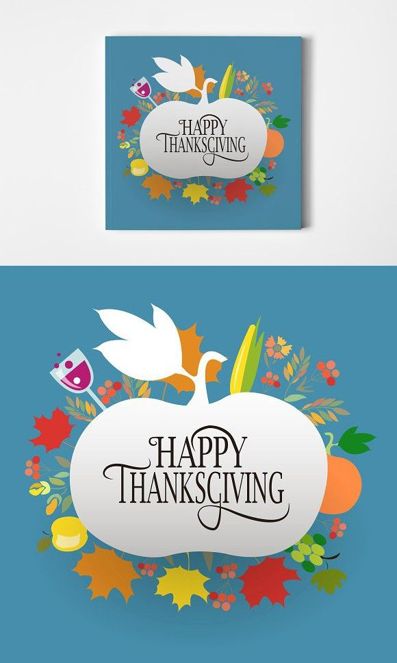 Happy Thanksgiving Card Thanksgiving Cards Happy Thanksgiving Card Template