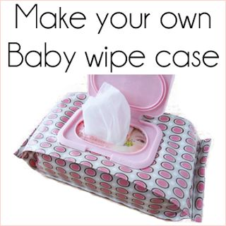 Homemade, refillable wipe case! would be great for cloth wipes on the go if made in right material!