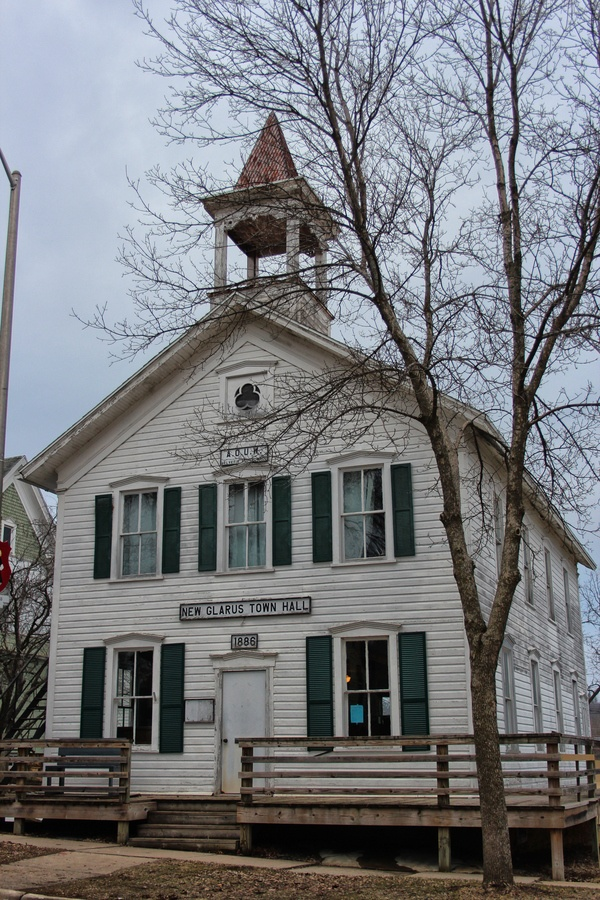 New Glarus Town Hall, Wisconsin