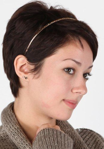 Best 25 Headbands For Short Hair Ideas On Pinterest