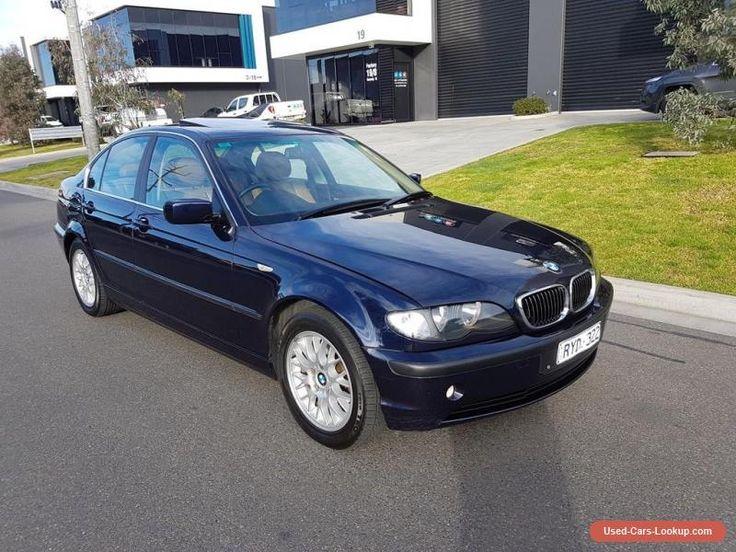 BMW 320i E46 AUTO SEDAN CRUISE LEATHER ALLOYS NO RESERVE MERCEDES AUDI VW #bmw #320i #forsale #australia