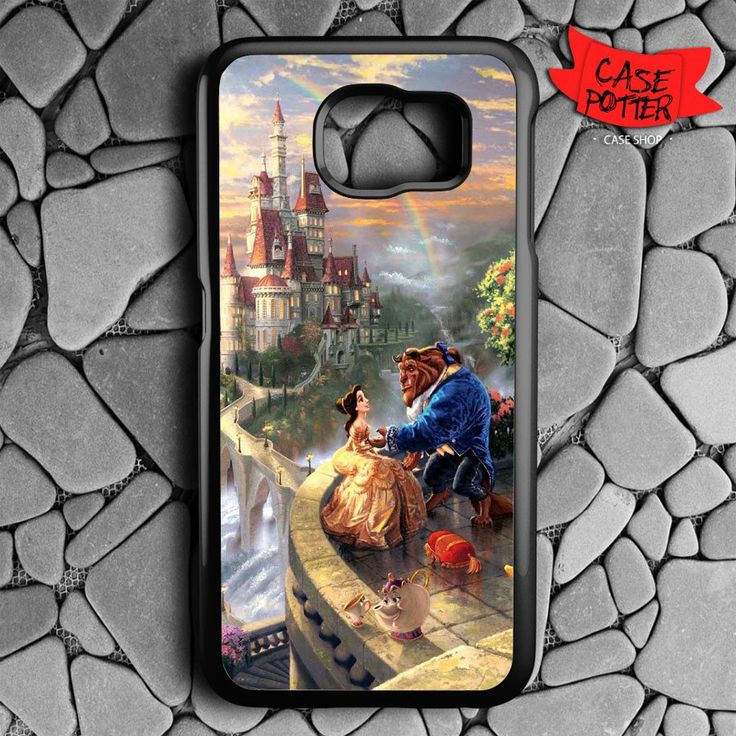 Beauty And The Beast Castle Samsung Galaxy S7 Black Case