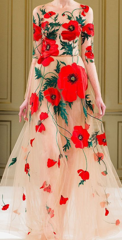 Yulia-Yanina-Haute-Couture-Spring-2014 #runway #dress #couture