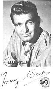 """""""Hunter"""" - The STAR Tony Ward who died in 2006, very James Bondish shot in B, it was a hit here in Aus."""