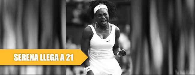 Serena Williams venció a la española Garbiñe Muguruza en la final de Wimbledon por 6-4, 6-4 para ganar su tercer título mayor del 2015 y mantener vivo el sueño de lograr el Gran Sam en 2015, lo cual podría concretar en el US Open.
