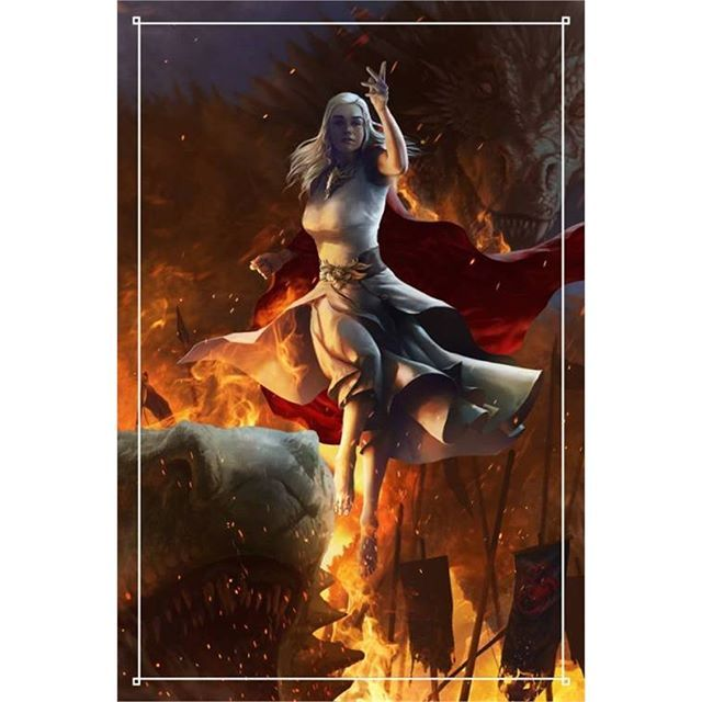 Stormborn Unburnt First of Her Name - Created by  Scarypet -  #GameOfThrones #GoT #Daenerys #Khaleesi #JonSnow #GotArt #GameOfThronesArt #DaenerysTargaryen #Daenerys #Targaryen #MotherOfDragons #Dany #EmiliaClarke #KitHarington #GameOfThronesFamilly #GoTFamily #GoTPage #GoTFanPage #GotFanArt #Winterfell #Westeros #Ironthrone #asoiaf #ASongOfIceAndFire #Dragon #Dragons #Drogon #Rhaegal #Viserion #ThronesDragons