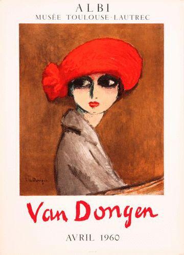 Exhibition van dongen '60