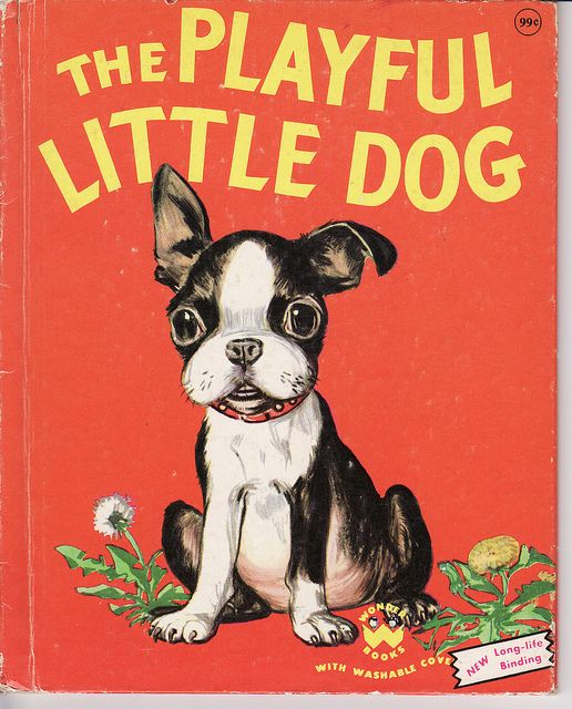 The Playful Little Dog, by Jean Horton Berg, Illustrations by Maurice Robertson