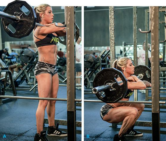 Bodybuilding.com - Ashley Hoffmann's 5 Ways To Supercharge Your Training! (Front Squat)