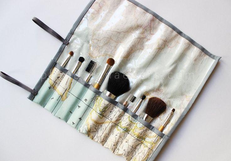 Plan B anna evers DIY Brush bag- http://planb.annaevers.com/en/diy-estuche-para-brochas-patron-gratis/