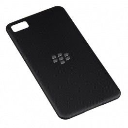BLACKBERRY Z10 BACK REPLACEMENT COVER- BLACK