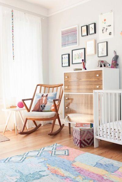 stylish baby room #nursery #baby room