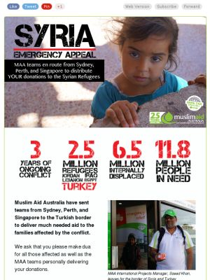 Syria in need
