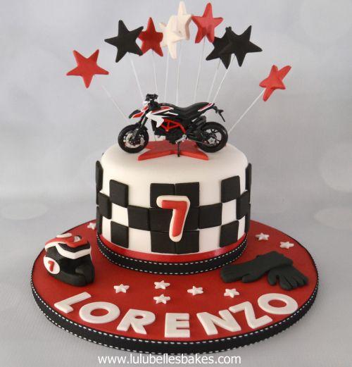 Bike Birthday Cake Images