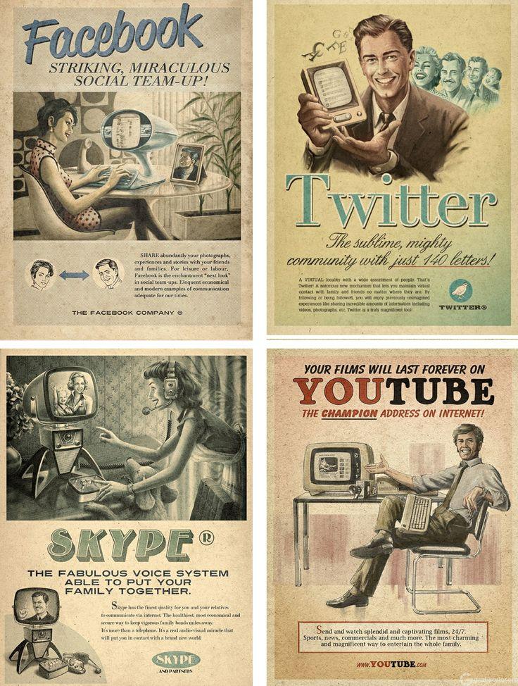 Sosyal Medya Retro Reklam Kampanyaları - Grafikerler.org