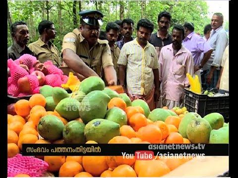 Dangerous Calcium Carbide used fruits found in Pathanamtitta - YouTube