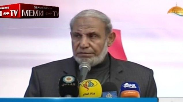 3/16/17 Senior Hamas leader: Quran tells us to drive Jews out of Palestine's entiretyZahar's comments come after recent reports that the group plans to amend charter to endorse a state of Palestine along pre-1967 lines