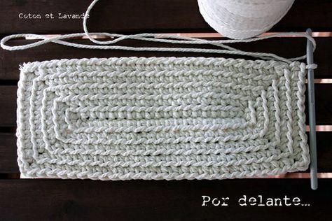 Coton et Lavande: TUTORIAL: STRIPED BAG.... (1ª parte)