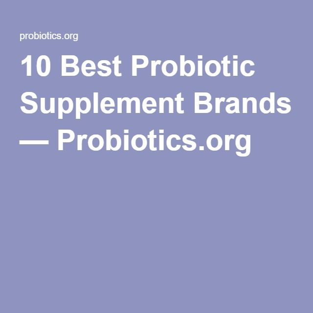 10 Best Probiotic Supplement Brands — Probiotics.org