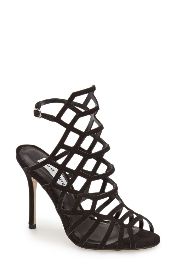 Steve Madden 'Slithur' Sandal (Women) available at Saw the nude one in the  store, looked really cool.