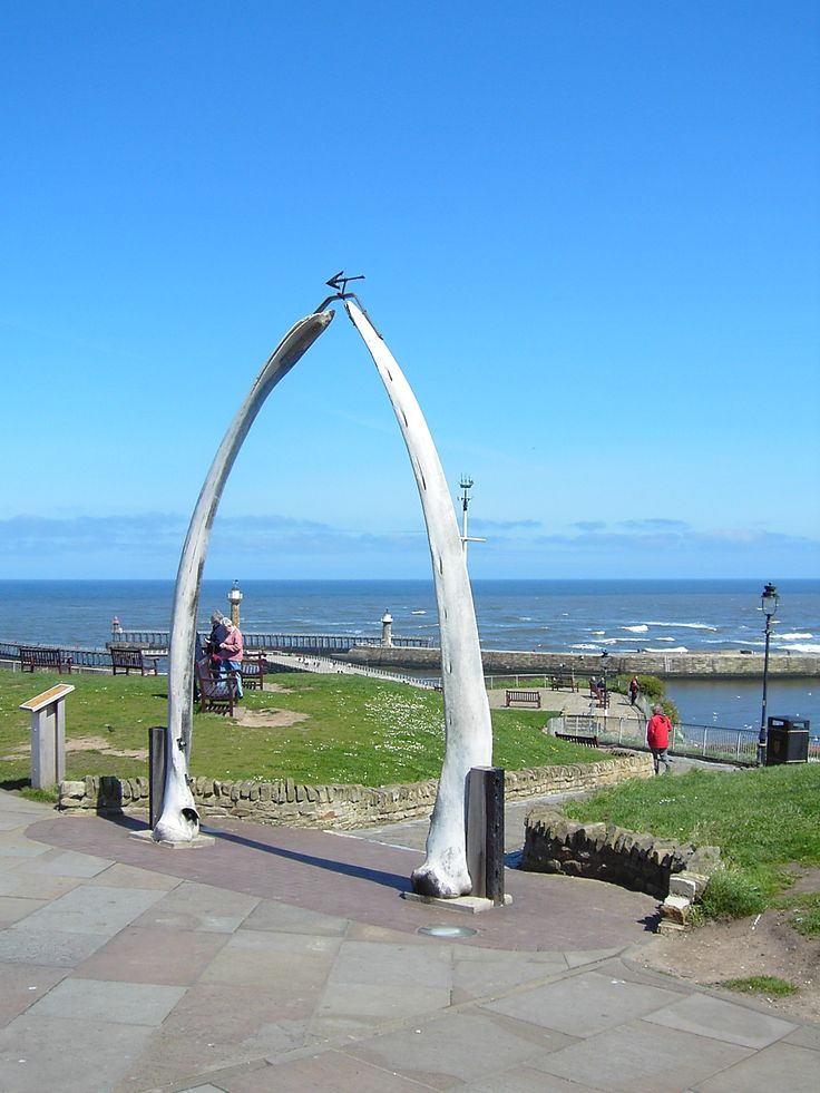 Whale Bones - Whitby - North Yorkshire - England