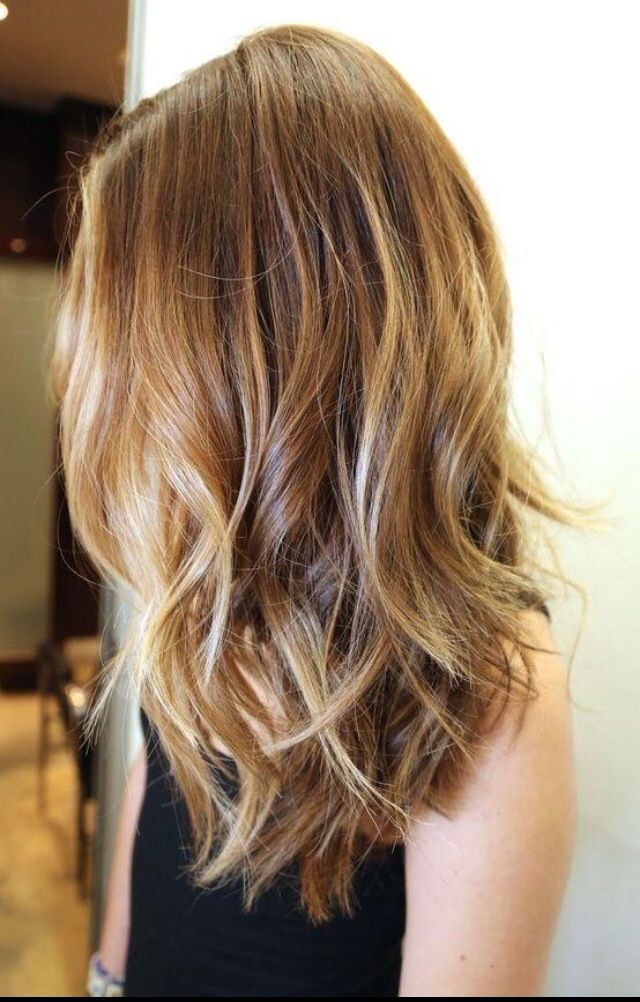 Get this look in the studio with the flamboyage method, super natural , multi-tonal colour!