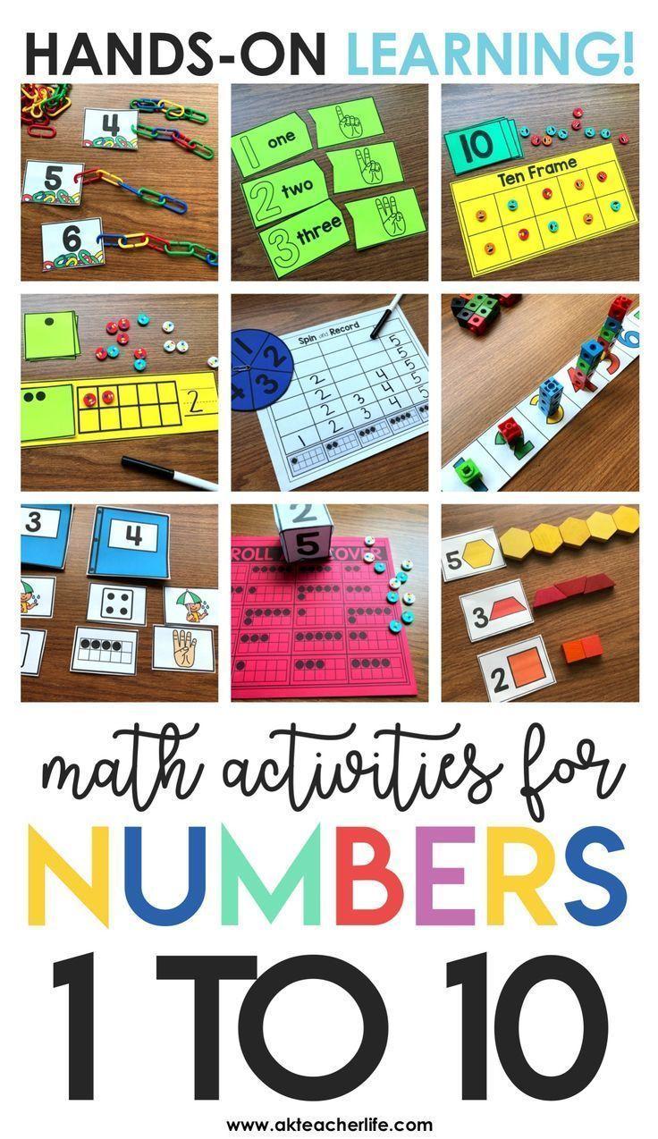 Kindergarten Math Centers And Worksheets Math Center Activities Math Centers Kindergarten Math Rotations [ 1274 x 736 Pixel ]