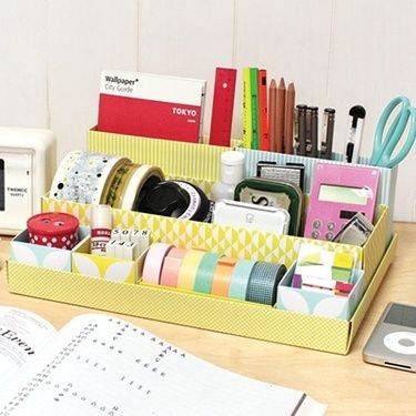 1000 ideas about shoe box organizer on pinterest shoe - Neat desk organizer ...