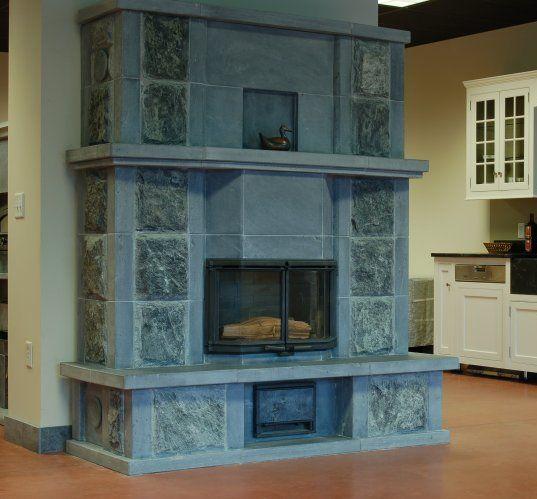 tulikivi soapstone fireplaces | ... - Custom Tulikivi Soapstone Fireplace - Mid-Atlantic Masonry Heat