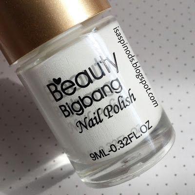 Little Fairy: Probando el Esmalte de Estampar Blanco de Beauty Bigbang