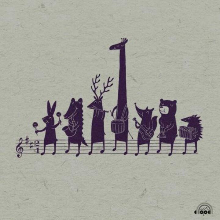 musical animals :)