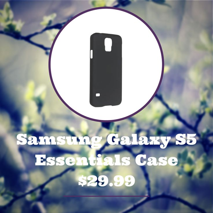 They say the simple things in life are the best! The Essentials range from Sprout provides your Samsung Galaxy S5 with 4-corners of protection in a simple yet elegant case.  #case #cover #samsung #galaxy #s5 #smartphone #electronics #technology #impactresistant #elegant