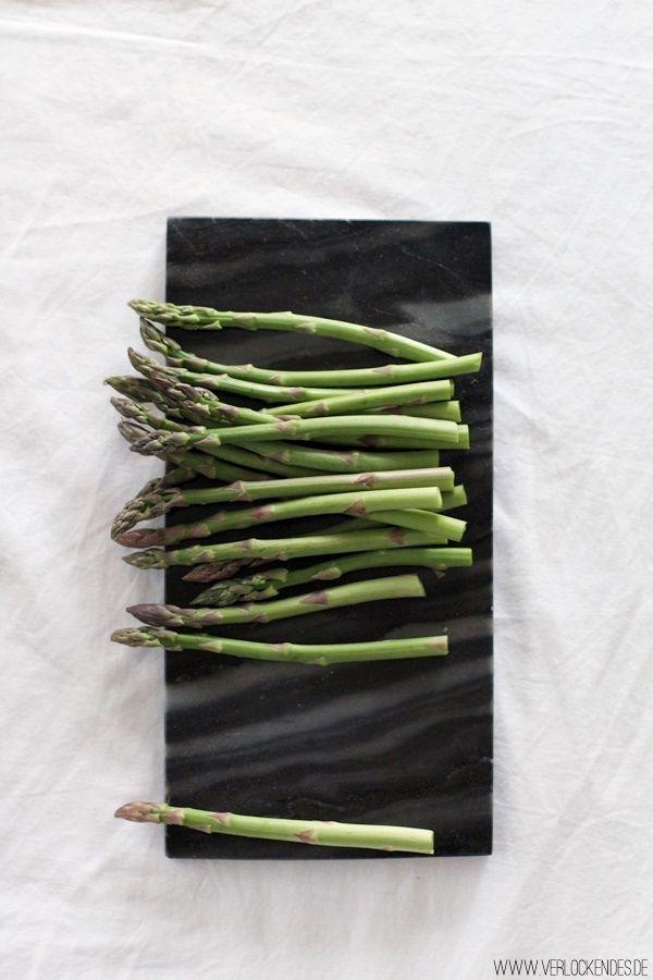Verlockendes...: Sekt-Gemüse-Pesto-Risotto mit gebratenem grünen Spargel + Großes Henkell Sekt-Giveaway
