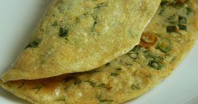 Clătite din făină de năut sunt nişte lipii indiene care se consumă în loc de pâine la masă sau ca fel de mâncare principal, atunci când sun...