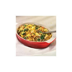 Campbell's Kitchen Turkey and Stuffing Casserole Allrecipes.com---early mini thanksgiving meal