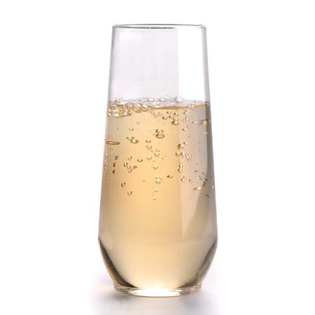 10 oz Stemless Plastic Champagne Flutes by SmartyHadAParty.com!