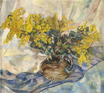 Grace Cossington Smith #goldenwattle