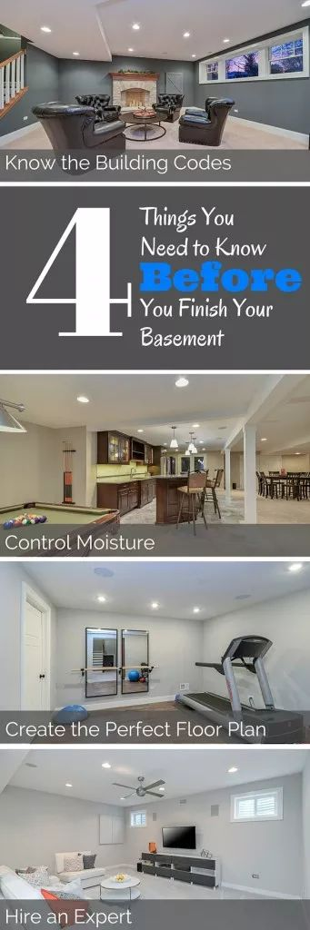 4 Things You Need to Know Before Finishing Your Basement Sebring Services
