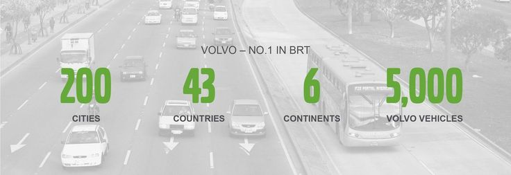 VOLVO – NO.1 IN BRT