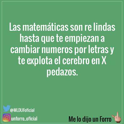 Las Matemáticas <3