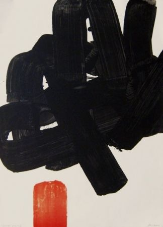 Lithographie - Pierre Soulages