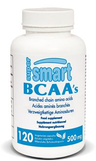 BCAA's 500 mg. Pris avant l'effort, les BCAA aident à préserver le tissu musculaire et apportent de l'énergie. Pris après l'effort, en association avec de la glutamine, ils accélèrent la régénération du tissu musculaire et améliorent significativement la récupération.