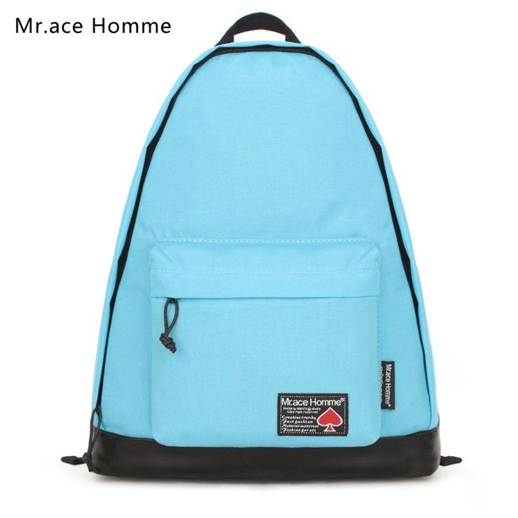 The New School Bag Fashion Patckwork Locomotiveravel Travel Backpacks Unisex Casual Rucksack Mochila