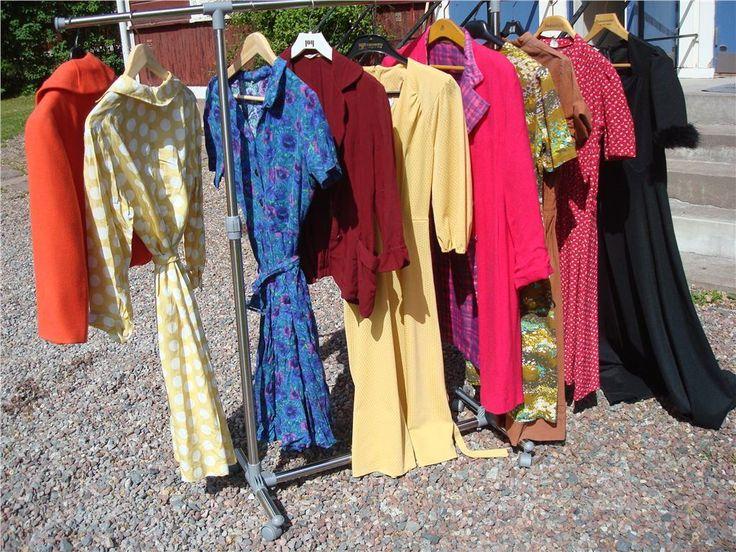 Vintage garderob 50 60 70 tal klänning dräkt jacka pinup 38 på
