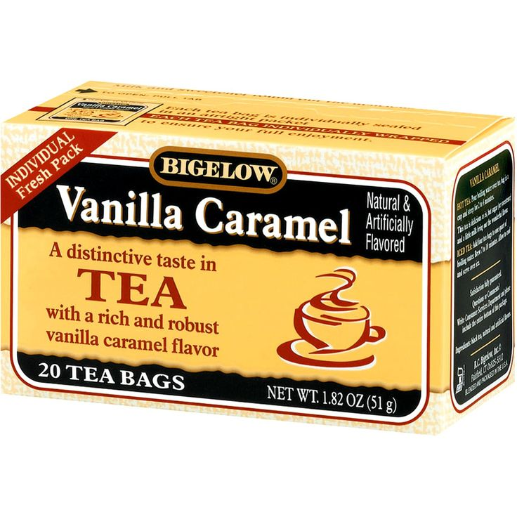 One of my favourite teas, a rich and sweet caramel vanilla flavour - I take mine with milk (no sugar) Discount code QOC222