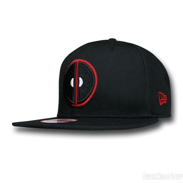 Images of Deadpool Symbol Black 9Fifty Cap