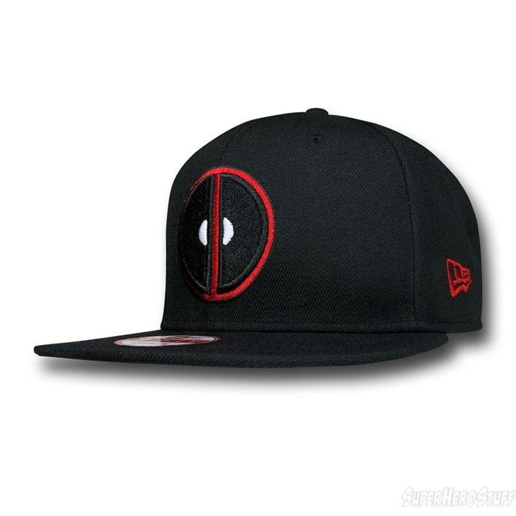 Images of Deadpool Symbol Black 9Fifty Cap