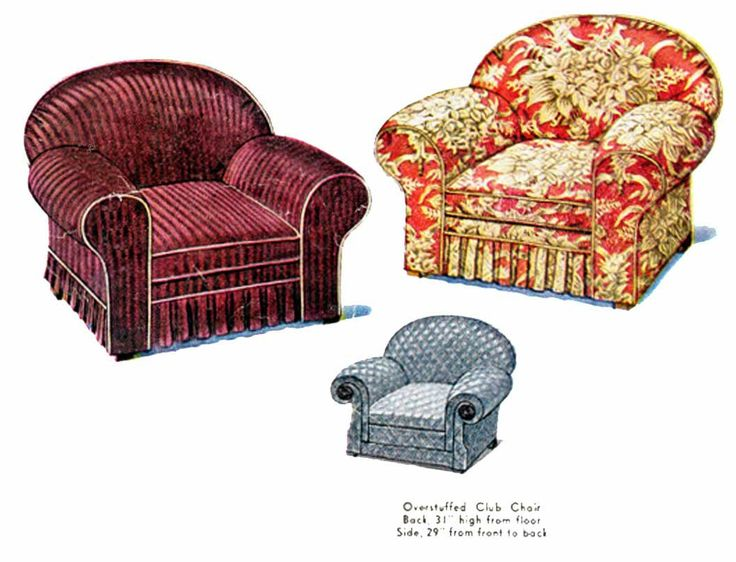 Vintage 30s 40s Oversized Chair Slipcover Pattern Club Chair Armchair Slip Cover Pattern 1930s Sewing Pattern McCall McCalls 446 by TheOldLeaf on Etsy